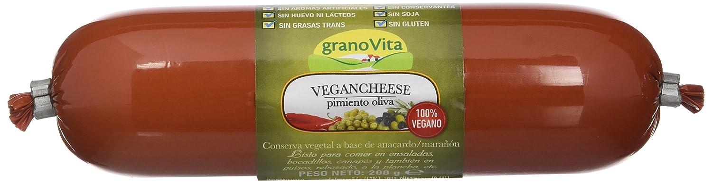 Granovita Vegancheese Pimiento Oliva - 200 gr - [Pack de 5]: Amazon.es: Alimentación y bebidas