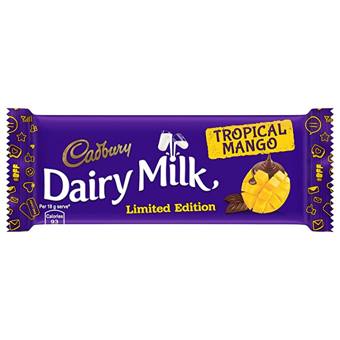 Snack lover: cadbury dairy milk snowy delight (limited edition.