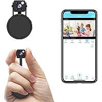 Mini Spy Camera WiFi, Relohas HD 1080P Spy Camera Wireless Hidden Live Streaming, Upgraded Night Vision/ Motion…