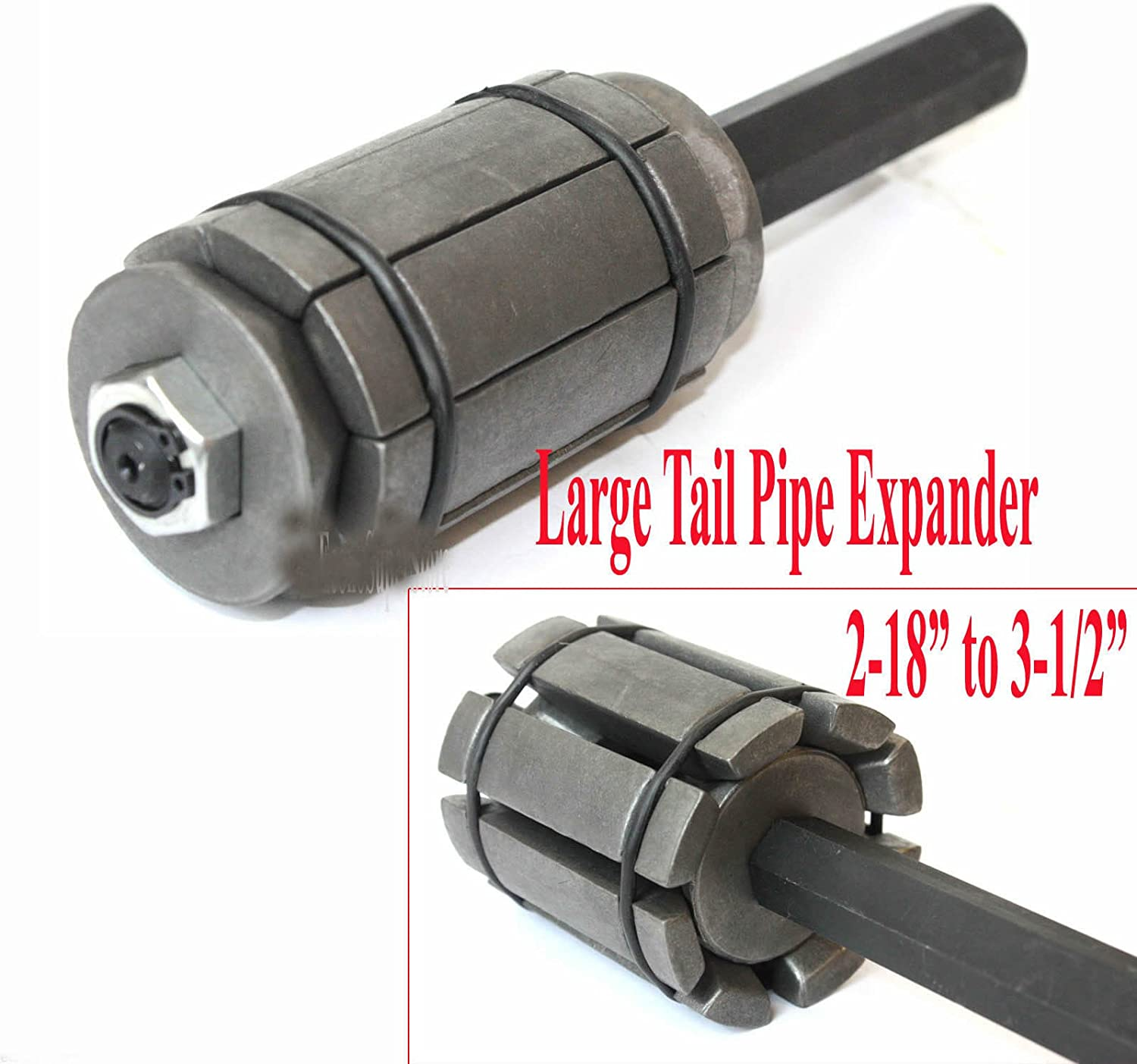 """1-3//4/"""" Hand Tool Small Tail pipe Expander Exhaust Muffler Pipe  1-1//8/"""""""