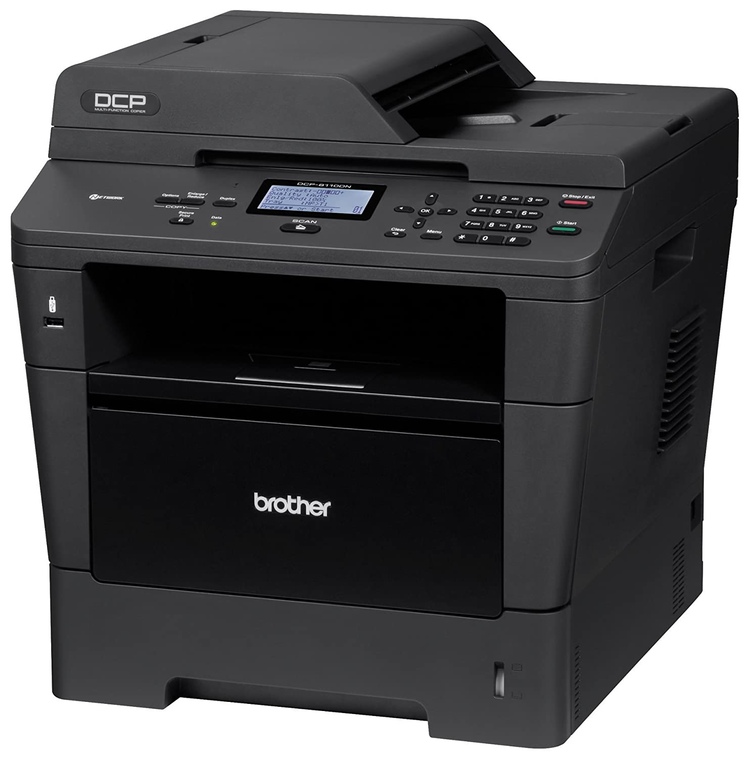Amazon.com : Brother Printer DCP8110DN Monochrome Printer ...