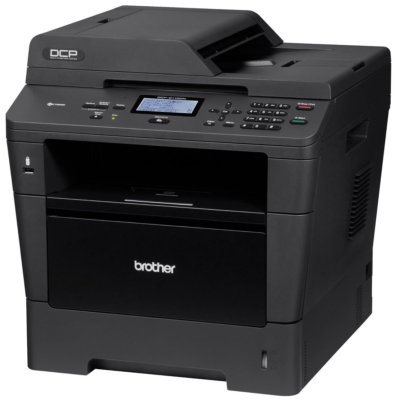 Amazon.com : Brother Printer DCP8110DN Monochrome Printer ...