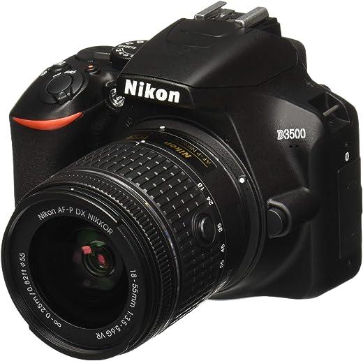 Nikon Nikkor 18-55mm D3500 W/AF-P DX f/3.5-5.6G VR