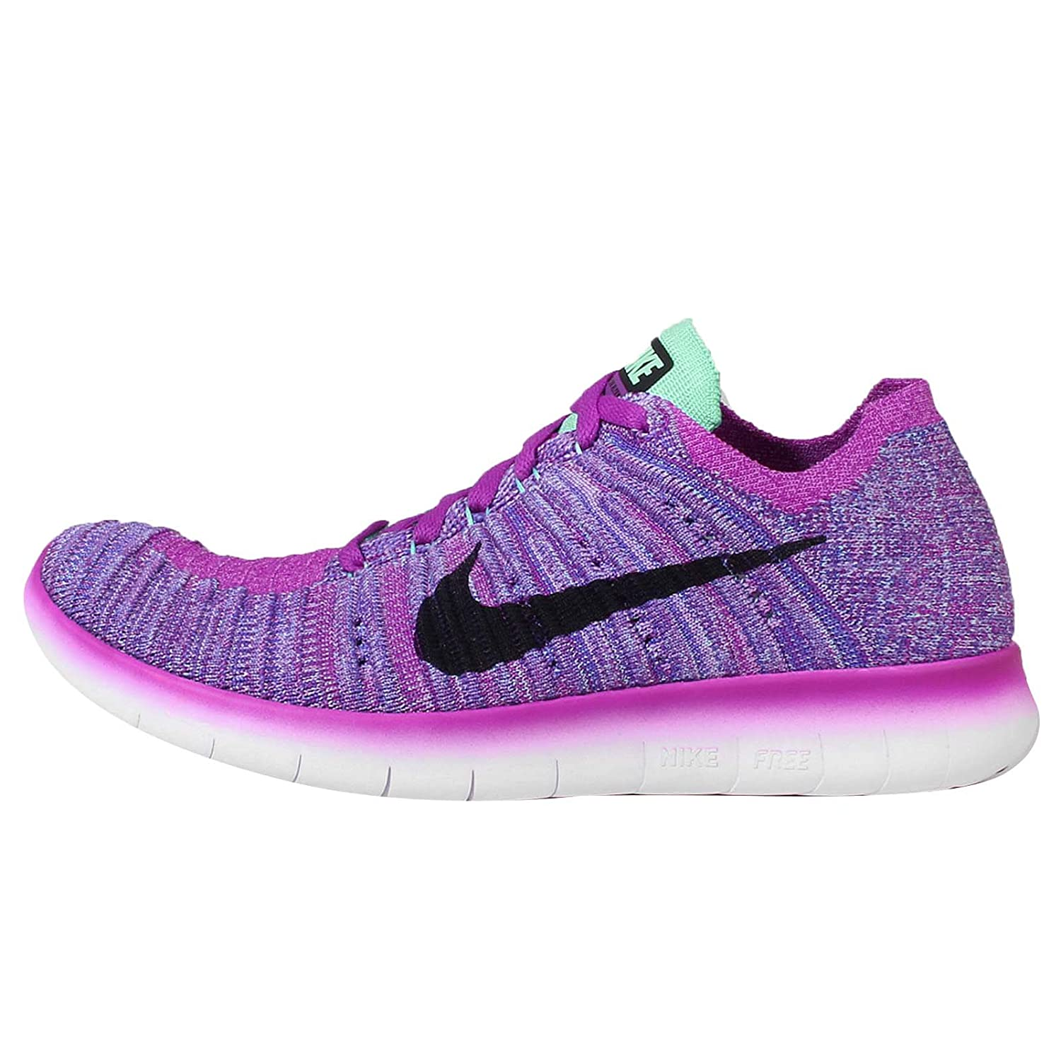 best website b8a32 b2a1b Nike Free Rn Flyknit (Gs), Girls Competition Running Shoes