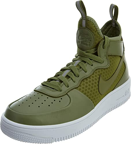 nike air force mid green