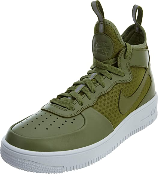 info for 7cb04 617d1 Nike Men s Air Force 1 Ultraforce MID Palm Green White 864014-301 (Size