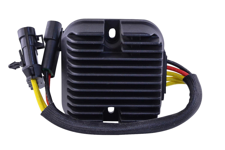 STAGE 1-2012-2016 Polaris RZR 900/1000 Mosfet Voltage Regulator Performance Black Edition Upgrade Kit OEM Repl.# 4013978 4015816 RMSTATOR