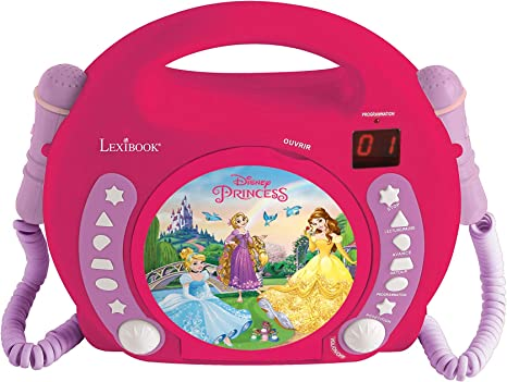 Disney Princess CD Player With Mic RCDK100DP
