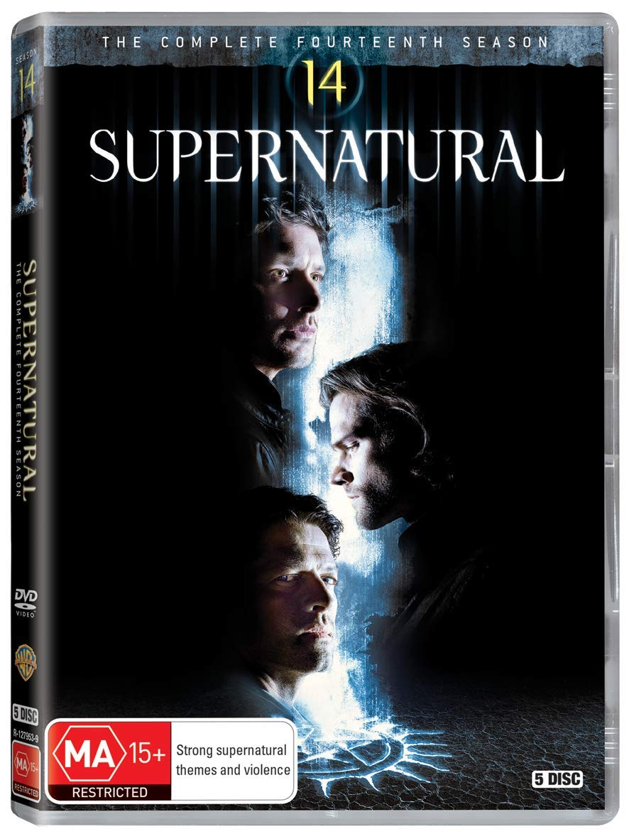 Supernatural - Season 14 Edizione: Regno Unito DVD: Amazon.es: Cine y Series TV