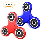 Fidget Spinner Toy, Spin 2-3 Min EDC Hand Figets Spinners Prime Tri-Spinner for Kids Adults, Relieves Stress Desktop Cool Gadgets, Fiddle Spinner for ADD ADHD Anxiety Autism