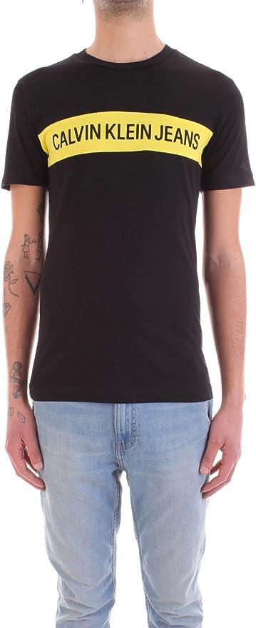 Calvin Klein - J30J315283 BAE - Camiseta Logo - Hombre: Amazon.es: Ropa y accesorios