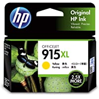 Genuine HP 915XL Yellow Ink Cartridge (3YM21AA)