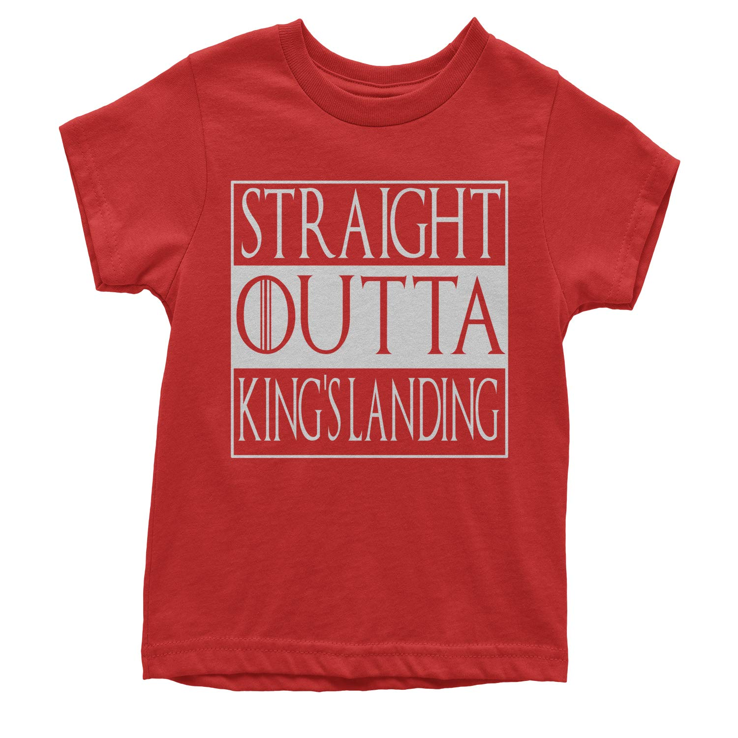 Expression Tees Straight Outta Kings Landing Youth T-Shirt