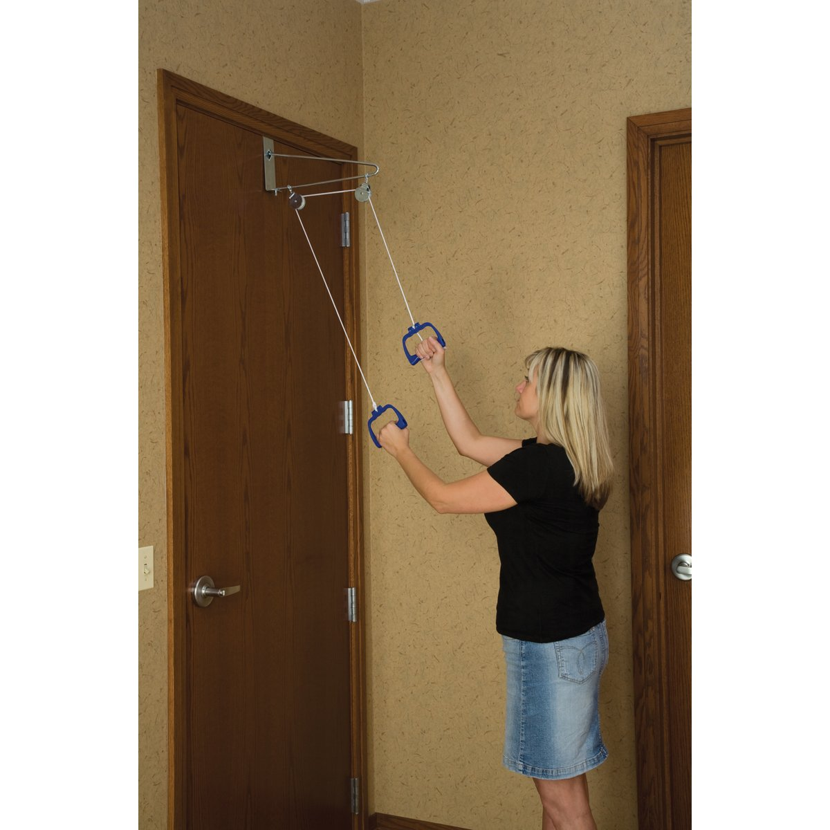 Amazon.com: DMI Shoulder Pulley For Physical Therapy, Door Pulley, White:  Health U0026 Personal Care
