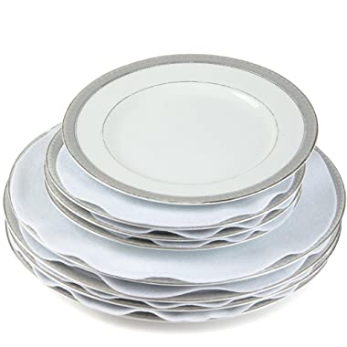Felt Plate China Storage Dividers Protectors White Extra Large Thick and Premium Soft Set Of 144 36-10.5 , 72-7.5 , 36-5