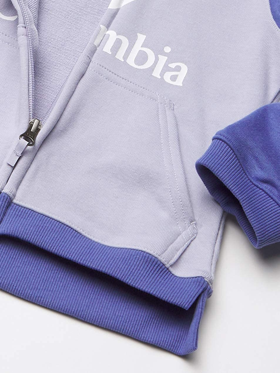 Columbia Kids /& Baby Columbia Branded/French Terry Full Zip