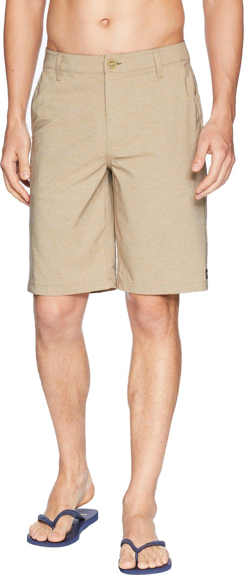 Rip Curl Men's Mirage Phase Boardwalk Walkshorts Khaki 34 11