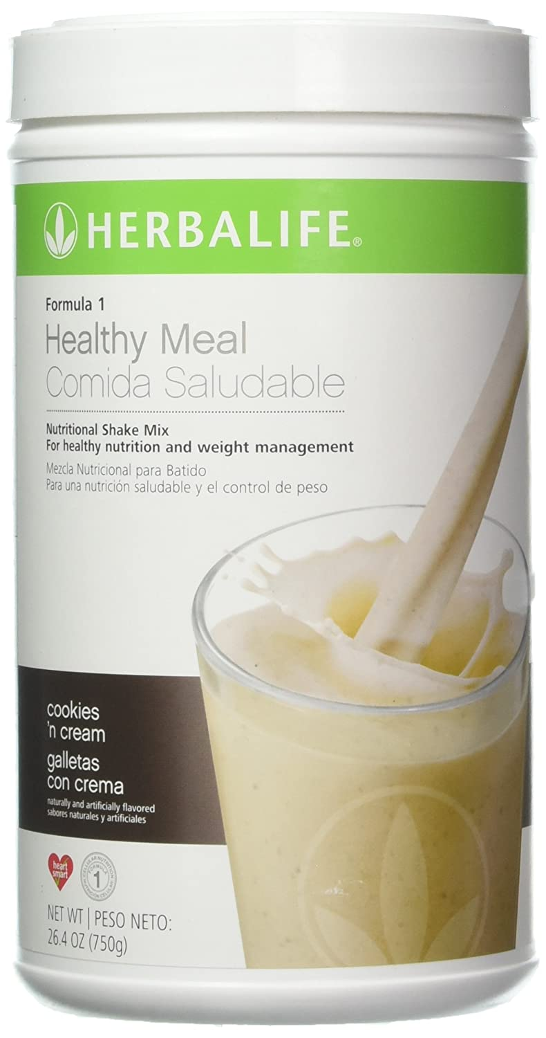 Amazon.com: Formula 1 Healthy Meal Nutritional Shake Mix Cookies N Cream 750g Help Support Metabolism Weight Management, Cellular Growth Repair and ...