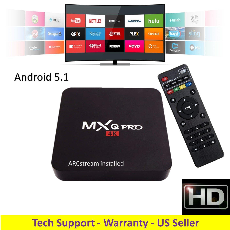 ARCstream MXq PRO - Android 5.1 S905 Quad Core 1GB/8GB 2.0GHz Processor