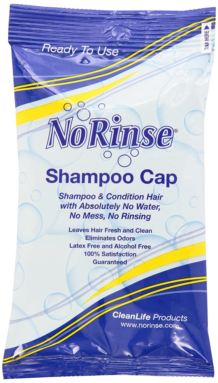 No Rinse Shampoo Cap (Two-Pack) by No Rinse