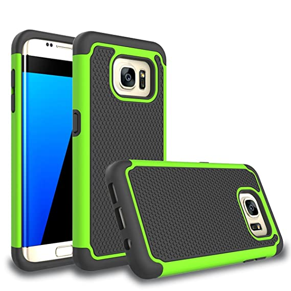 samsung s7 edge case green