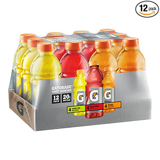 12-Pack Gatorade Original Thirst Quencher Variety Pack, 20 Ounce Bottles Deals