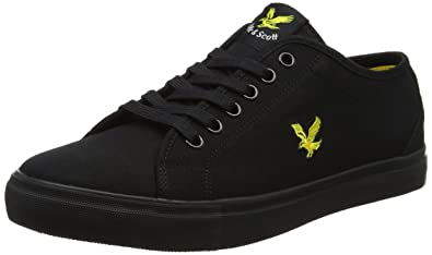 44299afa8a23 Lyle   Scott Men s Teviot Twill Solid Trainers  Amazon.co.uk  Shoes ...