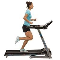 Laufband MAXXUS RunMaxx 4.2i Klappbar - Kompakte Treadmill Mit Klappbarer Lauffläche Und Dämpfungssystem - 16km/h, 12% Steigung - Starker 1,75 PS DC-Motor – Große Lauffläche Für Sicheres Training