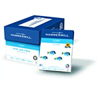 Hammermill Paper, Copy Paper Poly Wrap, 20lb, 8.5 x 11, Letter, 92 Bright, 5,000 Sheets / 10 Ream Case (150010C) Made In The USA