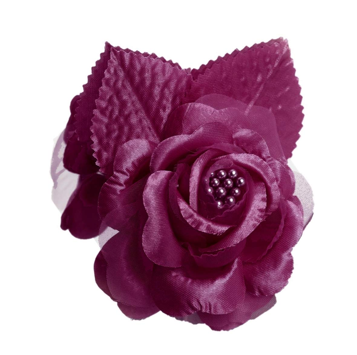 12-Silk-Roses-Wedding-Favor-Flower-Corsage-Pick-Burgundy