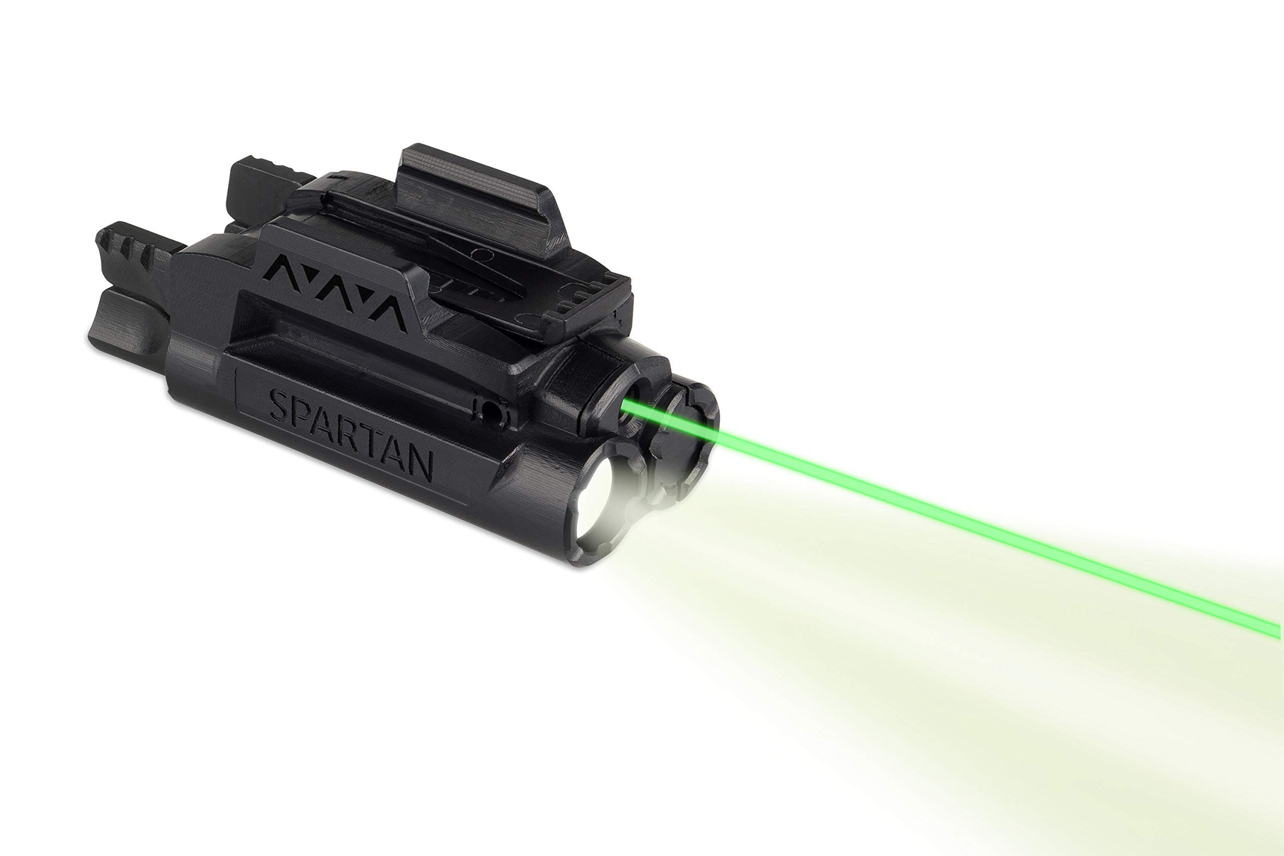 LaserMax Spartan Adjustable Rail Mounted Laser/Light Combo (Green) SPS-C-G by LaserMax