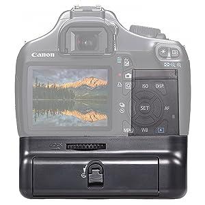 AGARRE DE BATERÍA VERTICAL NEEWER® con 2 piezas Reemplazo de batería LP-E10 para Canon EOS 1100D / 1200D / 1300D / Rebel T3 / T5 / T6