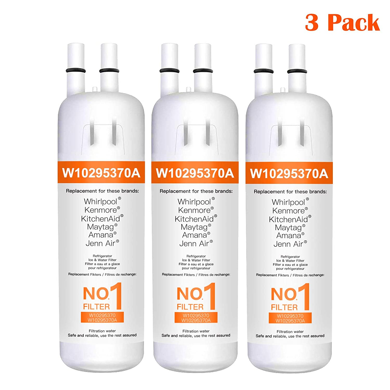 9081 Water Filter Compatible for Kenmore 9081, Filter1, Kenmore 46-9930 Water Filter, 9930 Water Filter 1, 46-9081, 9081, 3 Pack