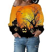 Kleurrijke hoodie zonder capuchon dames 3D-print pullover lange mouwen sweatshirts met kattenmotief bloemen shirt…