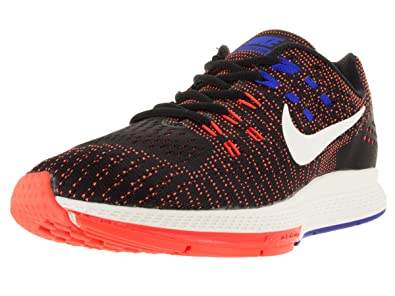 Nike Men's Air Zoom Structure 19 Black and Orange Running
