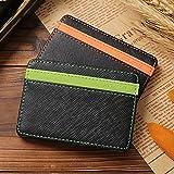 Portafoglio magica, porta monete, porta carte di credito Borsa Billfold Magic Wallet, verde (Verde) - D4101GR_IT