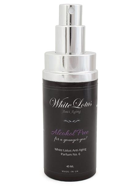 White Lotus Anti Aging – Perfume Sin Alcohol Para Mujer White Lotus Nº6 Hipoalergénico Para Pieles