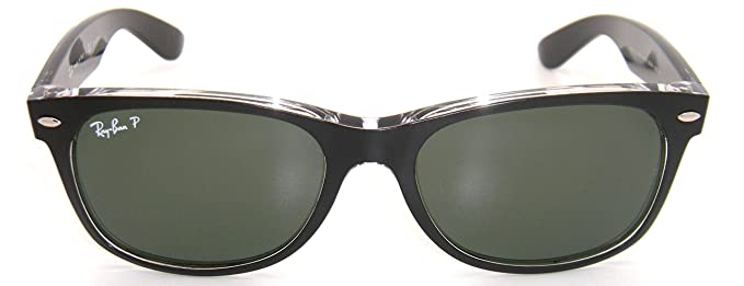 b158a6d4473 Amazon.com  New Authentic Ray-Ban New Wayfarer RB 2132 6052 58 55mm ...