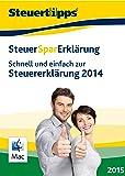 SteuerSparErklärung 2015, Mac-Version (für Steuerjahr 2014) [Download]