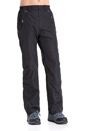 Clothin Mens Snow Pants Fleece Lined Ski Pants Waterproof  Amazon.co ... 4523acb4c
