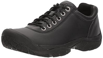 KEEN Utility Men's PTC Dress Oxford Work Shoe,Black,7 ...