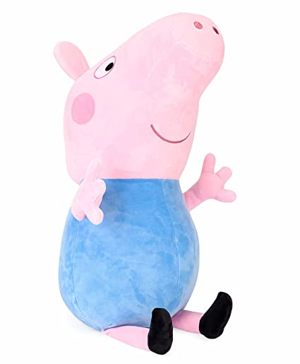 a1f6927a6023 Buy George Pig Plush Hypoallergenic Cute Soft Toys for Kids (19 cm ...
