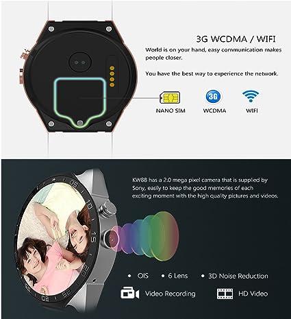KW88 3G Smart Watch: Amazon.es: Electrónica