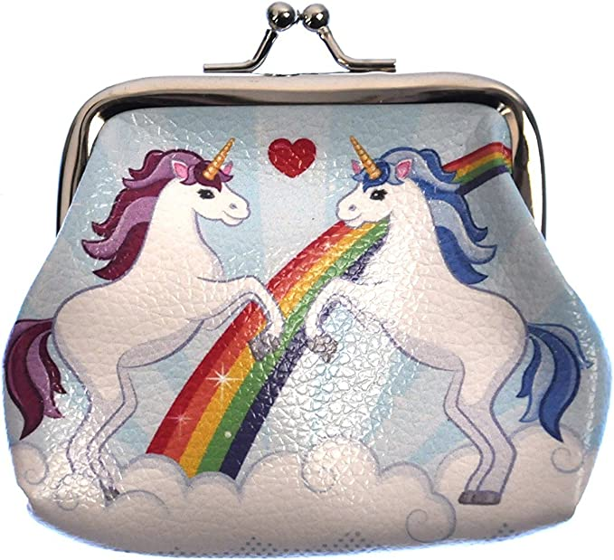 Multicoloured Unicorn Purse - Magical and Beautiful,Puckator,PUR27
