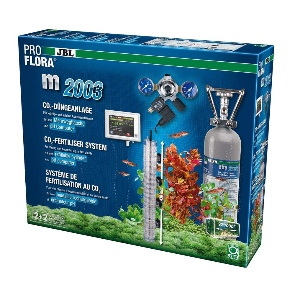 JBL ProFlora M2003 Sistema de fertilisation AU Co ₂ para acuariofilia: Amazon.es: Productos para mascotas