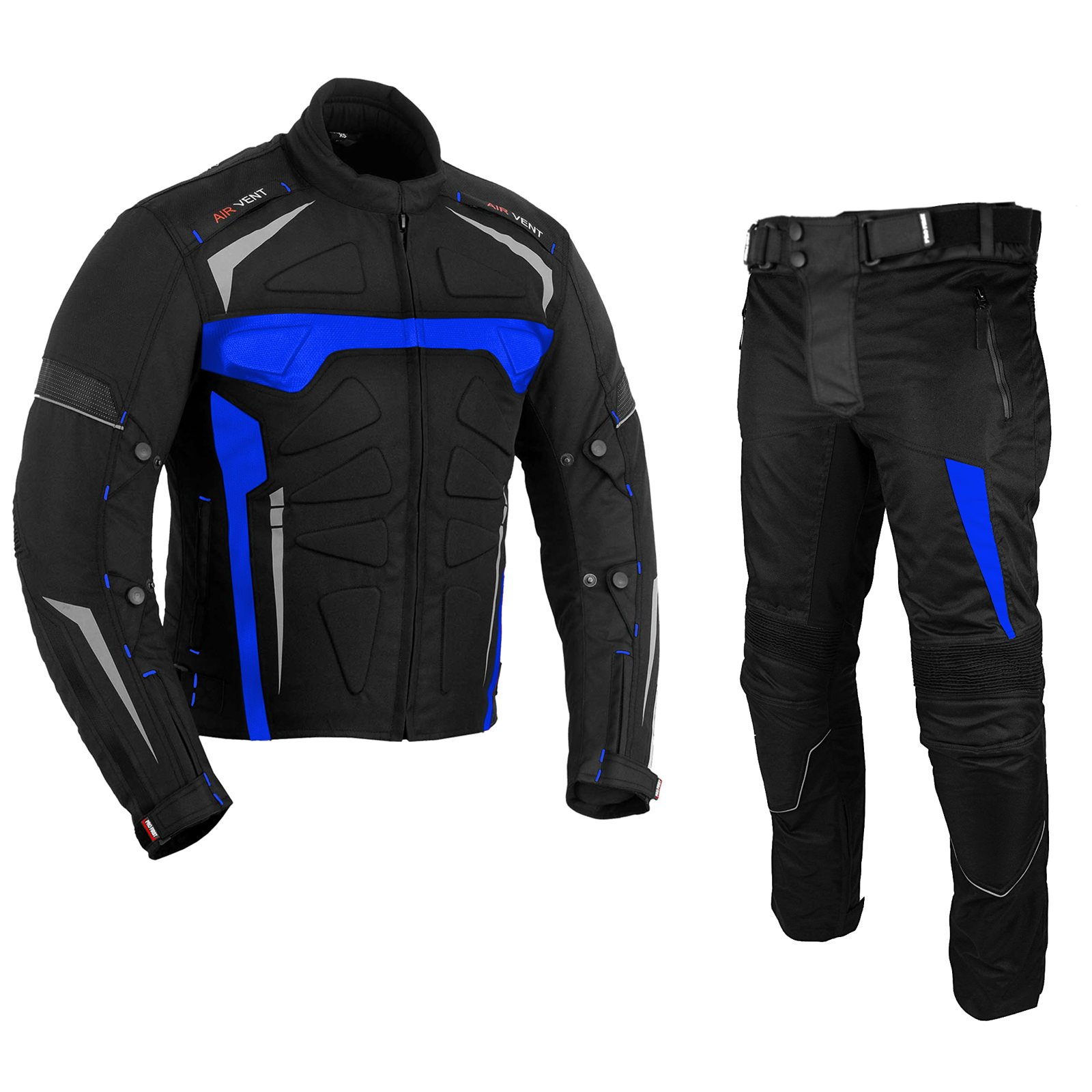 Size Xsmall Motorbike Suit Men Waterproof Motorcycle Armor Suits Bike Rider Suit 2 piece Suit Motorbike Racing Suit All Weather Wearing CE Armour for Mens Boys