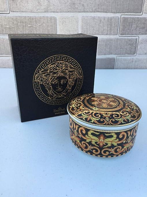 Versace by Rosenthal Bonbonniere Barocco caja original de porcelana: Amazon.es: Hogar
