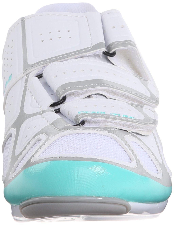Pearl Izumi Women's W Select RD IV Cycling Shoe, White/Aqua Mint, 40 EU/8.3 B US by Pearl iZUMi (Image #4)