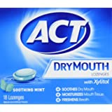 ACT Total Care Dry Mouth Lozenges, 18 Count (Pack of 6)