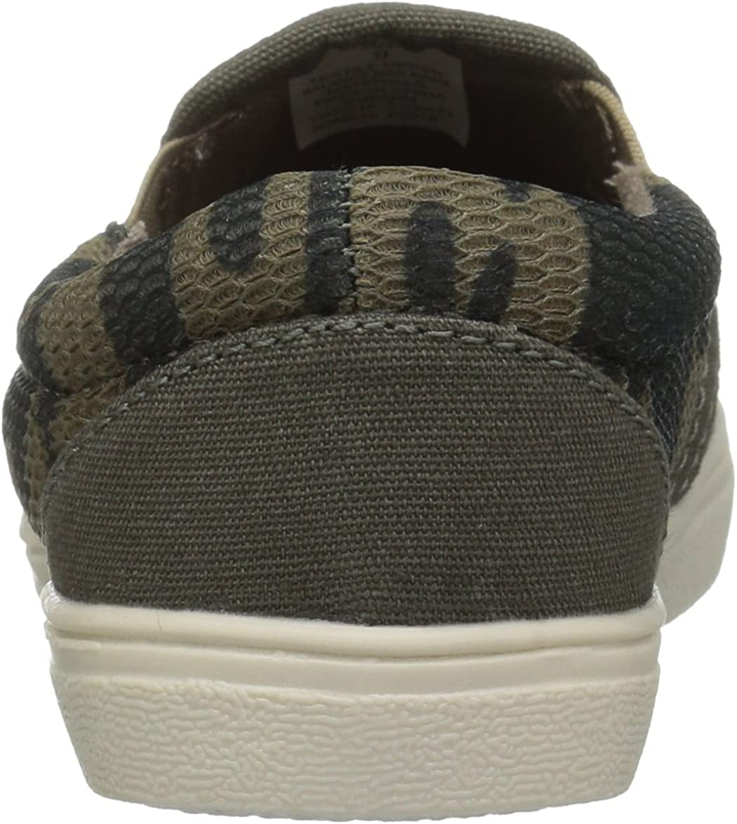 The Childrens Place Kids Toddler Camo Mesh Slip on Sneakers